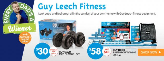 Big w amazing deals on guy leech fitness equipment