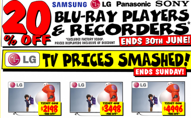 Jb hi fi 3d tv deals