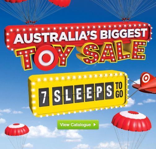 Target Toy Sale 2013 : Target toy sale catalogue available now australia s
