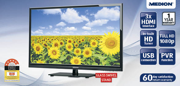 31 5 80cm full hd d led lcd tv from aldi for 259 topbargains. Black Bedroom Furniture Sets. Home Design Ideas