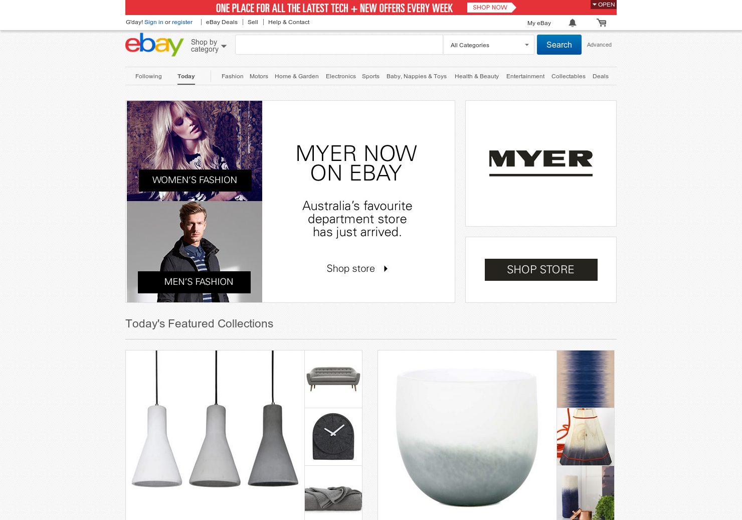 Ebay - 10% off Home and Garden Products ( Selected Accounts ...