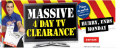 Massive 4 Day Clearance @ The Good Guys!