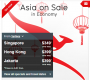 Qantas Asia on Sale - Flights to Singapore from $349