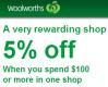 5% off this week @Woolworths for Everyday Rewards card members