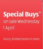 ALDI Special Buys - Starts Wed, 1 April (Includes; Aged Care & Kids Basics)