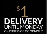 EziBuy - $1 Delivery Sitewide (code)! Minimum spend $50 (Ends 30 March)