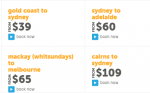 Tiger Airways - Latest deals from $39 (one-way)! Ends Tue, 10 March
