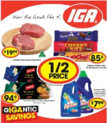 IGA Specials - Valid from 4 March to 10 March (Including 1/2 Price Items)