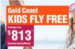 Jetstar Airways - Kids Fly Free to Gold Coast! Ends Tue, 31 March