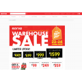 SONIQ Warehouse Sale! 3 Days Only! Up to 90% off