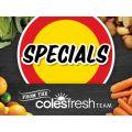 Coles - Fruits & Vegetables Specials e.g. Carrots 1kg Bag $1.3; Celery Bunch $1.5; Broccoli $2/kg  - Valid until Thurs,12th Jan