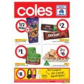 Coles Half Price Specials - Starting 6th March