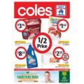 Coles Weekly Half Price Specials Catalogue - Until 15th January