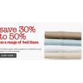 30-50% off on Bed Linens @ David Jones!