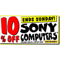 JB Hi-Fi 10% off Sony Computers!