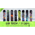 Lib Tech Save up to 30% off @ Torpedo 7