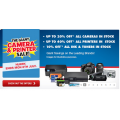 Giant Camera and Printer SALE @ Harvey Norman!