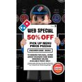 50% off Price Up Price Menu - Web Specials
