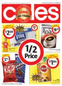 Coles Half Price Specials 19 Mar 2014 to 25 Mar 2014