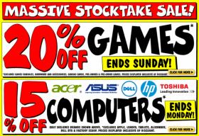 Massive Stocktake Sale at JB Hi-Fi
