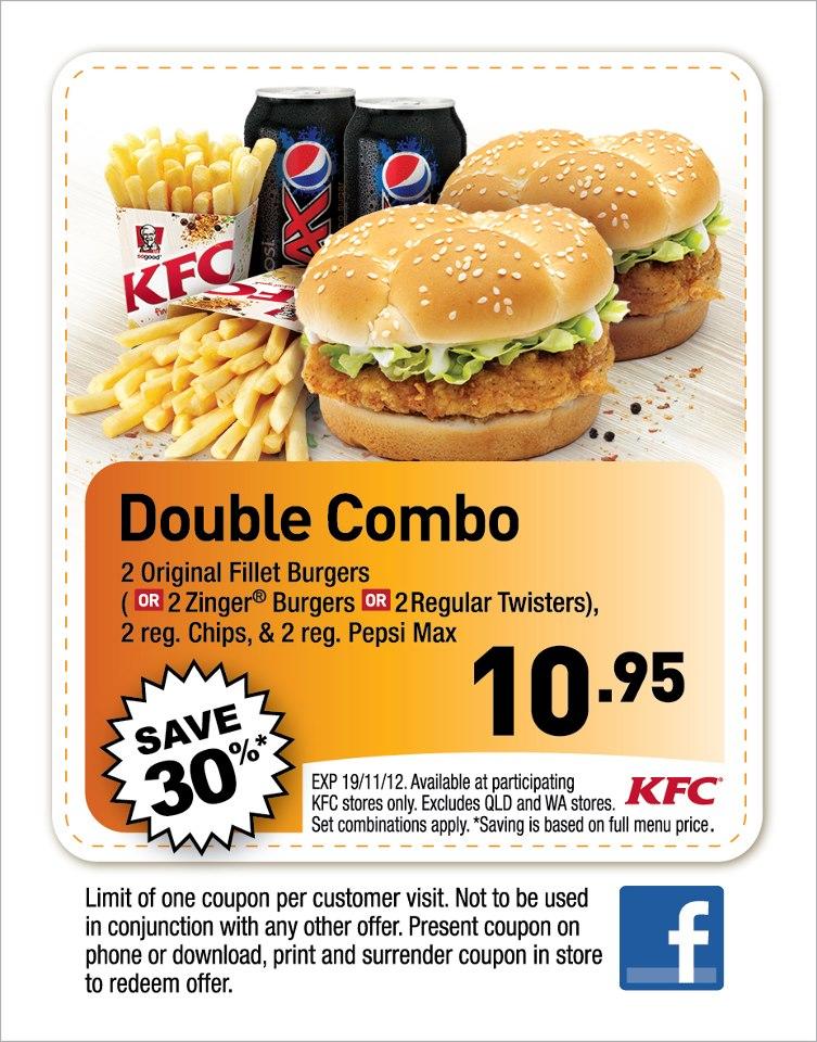 Kfc coupons 2019 australia